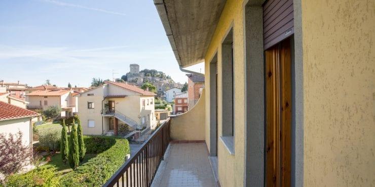 Trilocale a Sarteano (SI), borgo storico in Toscana