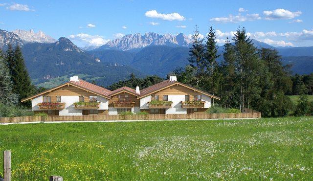 Moderna villa a schiera con meravigliosa vista panoramica – Collalbo Renon