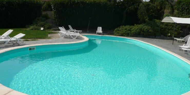 Agriturismo – Ferienwohnungen mit Schwimmbad – Bolsenasee